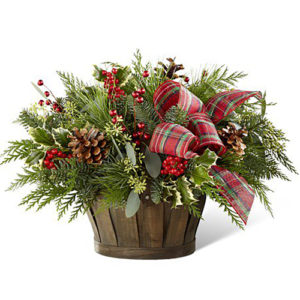 Holiday Greens Basket #2