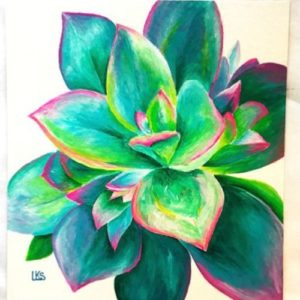 Botanical Watercolor Art