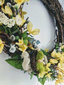Spring Wreath Decorating