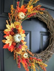 Fall Wreath Decorating