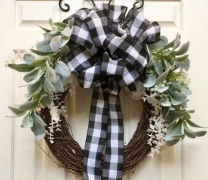 Winter Wreath Decorating