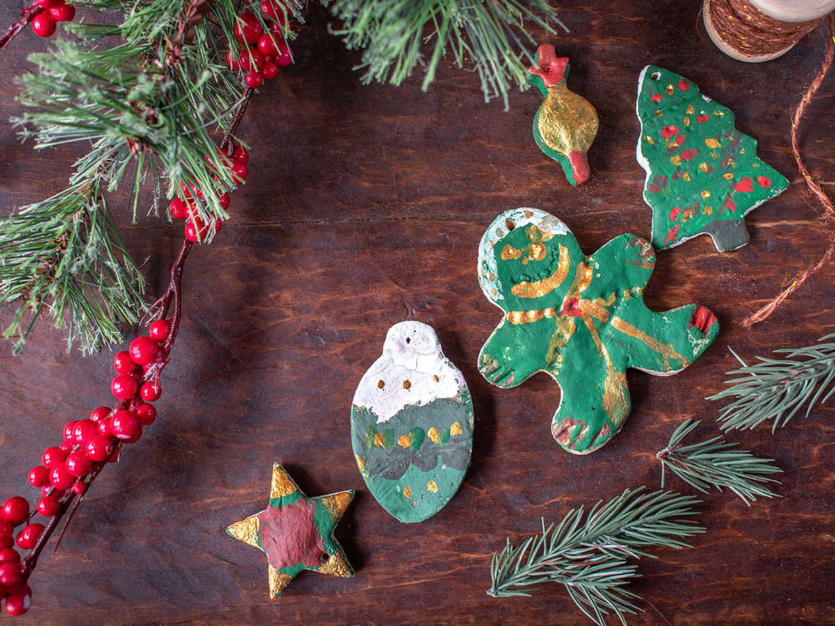 11 Easy Holiday Decorations dough ornaments
