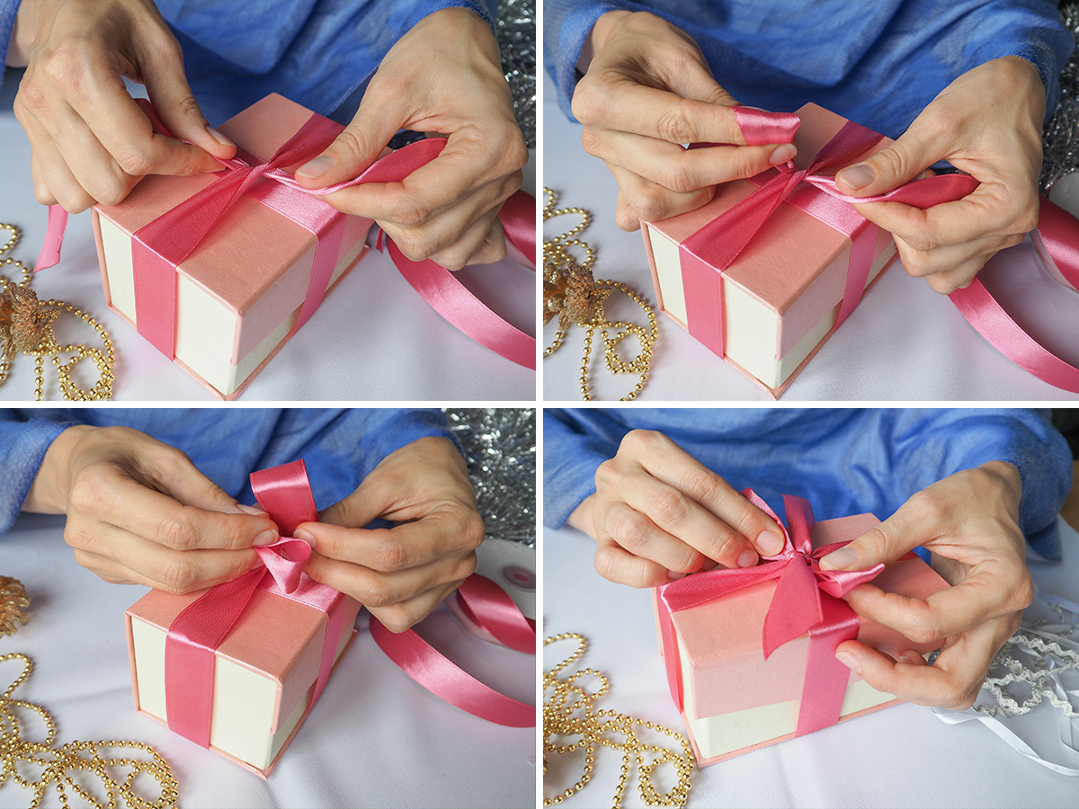 WB How to Make the Perfect Holiday Bow classic bow how to
