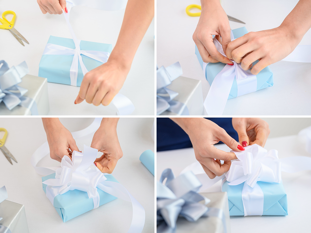 WB How to Make the Perfect Holiday Bow fancy bow how to